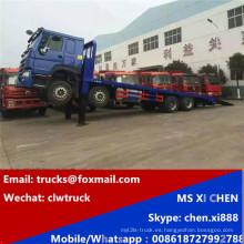Directo fábrica Sinotruk 8 X 4 HOWO camiones de cama baja