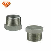 Dimensiones de los accesorios de tubería de acero con tapa de acero inoxidable