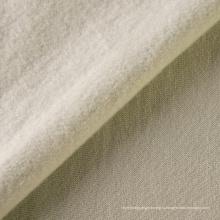 Ткань махровая ткань 100% хлопок, окрашенная однотонная флисовая ткань