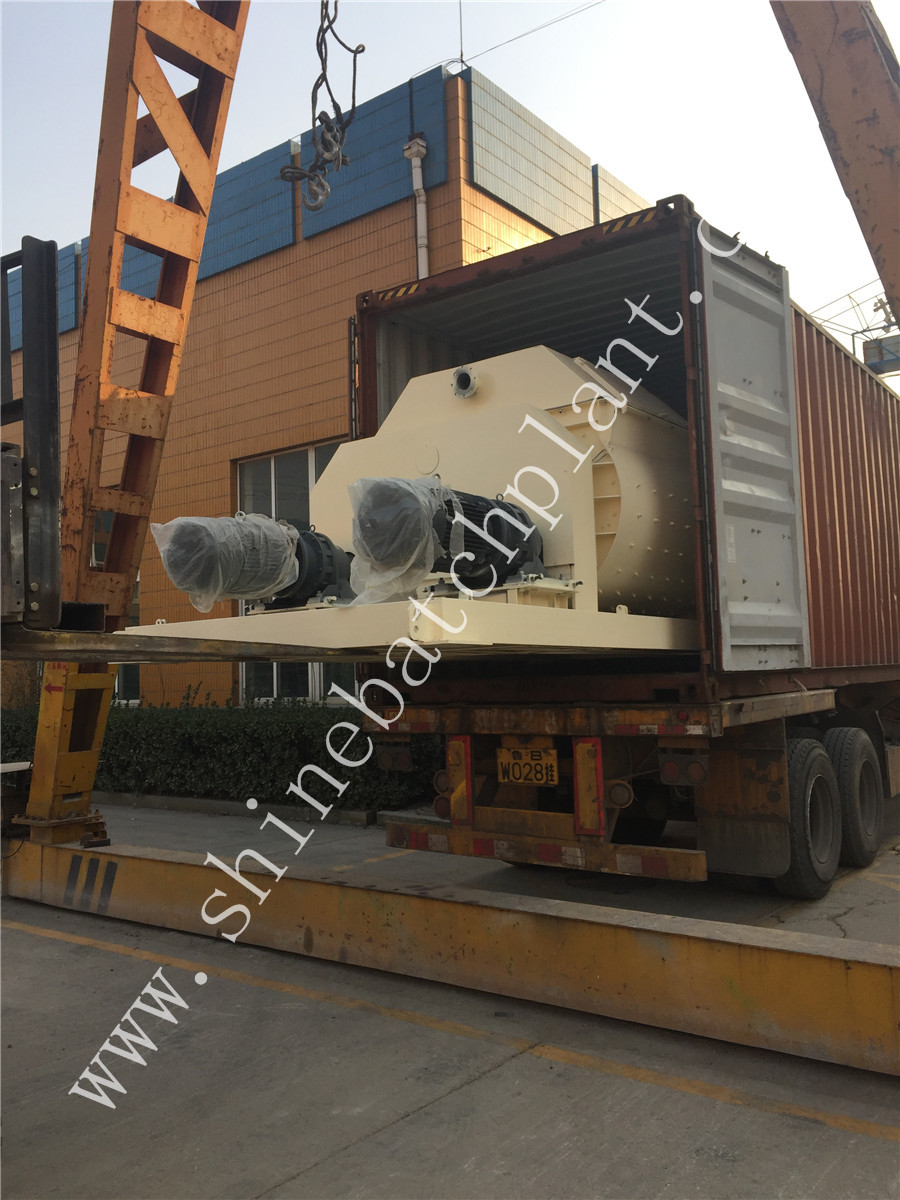 Shipment Concrete Batch Plant 04