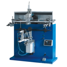 Пневматический настольный шелкографический принтер для круглого пластикового ковша