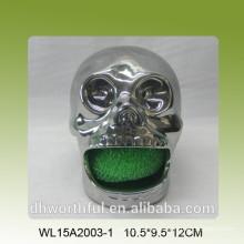 Sostenedor de esponja de cerámica de Halloween