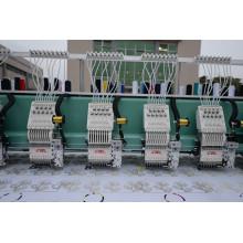 Высокоскоростные 6 головок Flat + Sequins + Easy Cording Смешанная компьютеризированная вышивальная машина