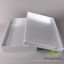 Caja de empaquetado decorativa del vestido de la cartulina para las bodas