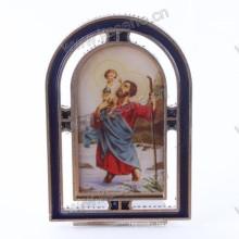Religious Zinc Alloy Gualalupe Frame, Zinc Alloy Catholic Saint Frame