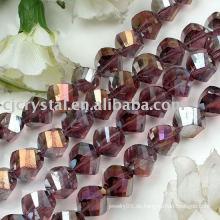 216 AAA Grade Kristall Twist Perlen