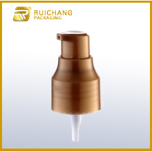 Plastic cosmetic lotion pump for bottles