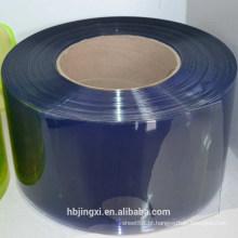 Folha / folha / esteira macias transparentes coloridas da cortina do PVC