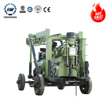 400m deep XYX-3  wheels diesel engine rotary water well drilling rig price