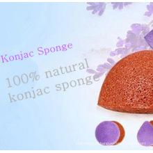 Facial Cleansing Konjac Sponge100 % Natural Konnyaku Facial Sponge/