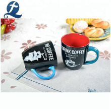 Hochwertige individuell bedruckte Kaffee-Hauswasserbecher Keramik