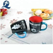 High quality custom printed coffee home water mugs ceramic