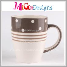 Tasse de café en céramique sculptée en gros