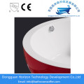 Stand alone whirlpool tubs red luxury bathtub
