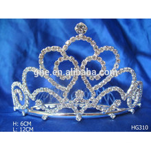 Desfile coroas tiaras vermelho cristal casamento coroa perla cristal coroa tiara férias tiara coroa para casamento