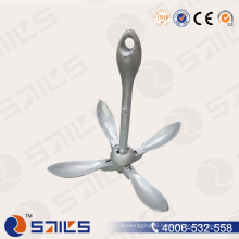 Rigging Hardware Galvanized Type a Cast Boat Fold Anchors