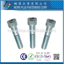 Créateur à Taiwan Factory DIN912 Hex Socket Head Bolt Screw Hex Socket Cap Screw