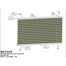 2.0cm Stores plissés (push and pull) (HB-39)