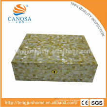 CGM-CH Golden Mother of Pearl Cigar Box for Luxury Gift