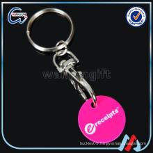 Shopping Cart Coin Key Chain