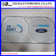 Promotional Double Circle Polyester Car Sunshade (EP-CS1015)
