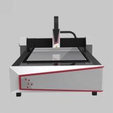 Découpeuse de laser de fibre de plaque métallique pour la construction