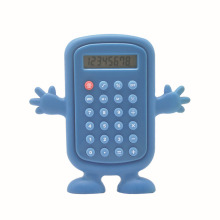 8 Digits Cartoon Shaped Kids Pocket Calculator