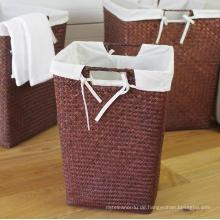 (BC-ST1076) Gute Qualität reine manuelle natürliche Stroh Wäschekorb