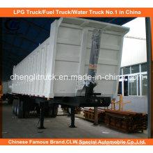 Heavy Duty Tri-Axle 35cbm End Tipper Truck Trailer
