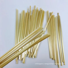 Natural Wheat Drinking Straws Biodegradable, Eco Disposable Straw for Coffee