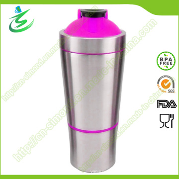 700ml Wholesale Stainless Steel Protein Shakers