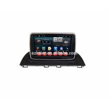 Kaier Full touch pantalla Android 7.1 Qcta core car Gps / coche reproductor de DVD para Mazda 3 con wifi BT Mirror Link