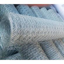 Malla de alambre hexagonal galvanizada por inmersión en caliente y malla de alambre de pollo