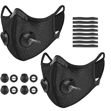 Reusable Cycling Running Riding Carbon Sport Mask