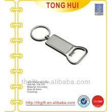 Bottle opener keychains blank pendants metal