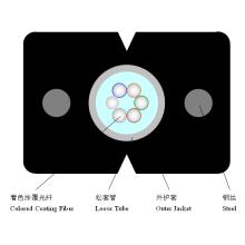 Indoor Multi-Fiber Sm Loose Tube Fiber Optic Drop Kabel