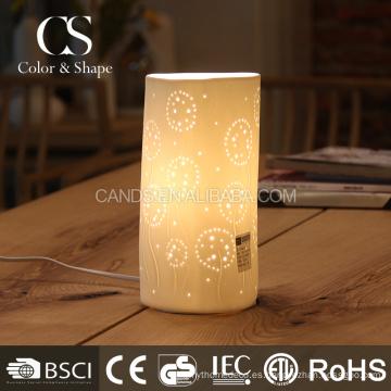 Lámpara de mesa clásica moderna del modelo del diente de león de la forma del tubo