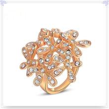 Cristal joyería accesorios de moda anillo de aleación (al0011rg)