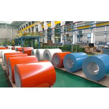 Color bobina de acero para la construcción de techo