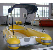 CE RIB 4person inflatable speed boat