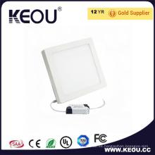 Luz superior del panel de la venta LED con la luz del panel cuadrado de Ce RoHS LED 18 24W