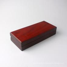 Boîte à bijoux en bois avec insert en mousse