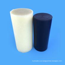 Engineering Plastics 100% Plastics Varilla de nylon negra / blanca