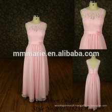Strapless design elegant light pink evening dresses 2015 new model evening dress