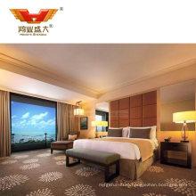 Custom Made Hotel Lounge Furniture Bedroom Modern Bed