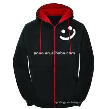 Sudadera con capucha gruesa del OEM del hoodie del algodón del invierno para la venta de la Navidad