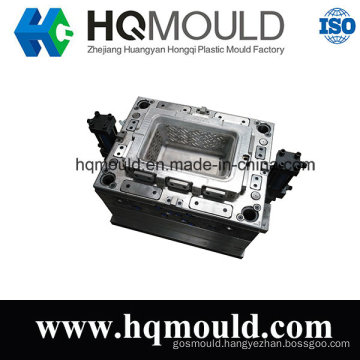 Plastic Injection Tool for Storage Container Basket Plastic Box Mould