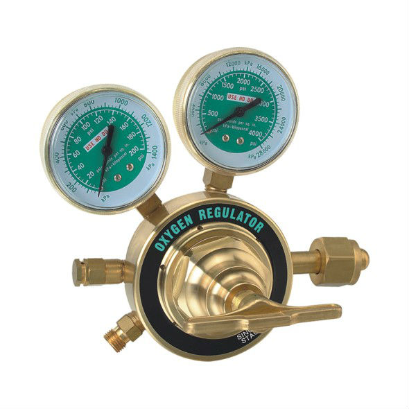 Heavy Duty Gas Regulator for Oxygen or Acetylene