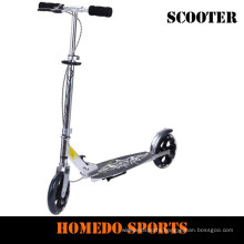 200 mm big two wheel adult scooter for cheap sell