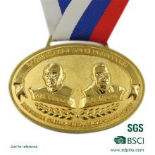 Die Casting Custom Zinc Alloy Medallion for Sports